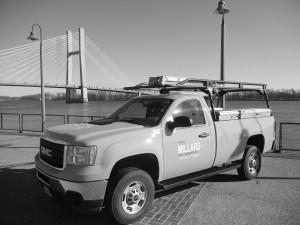 One of Frank Millard's signature trucks